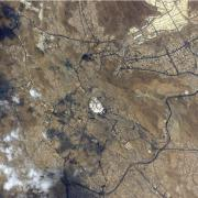 Mecca saudi arabia kaaba international space station hayati info