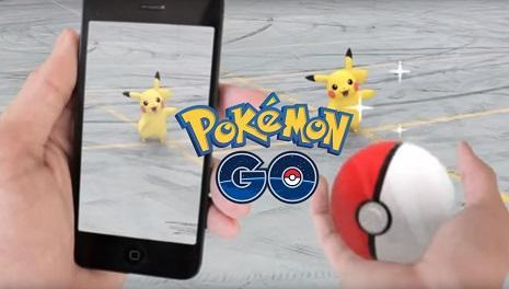 Pokemon go play application